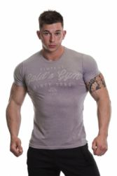 Poză Tricou Gold s Gym Vintage Embossed - Gri (GGTS064)
