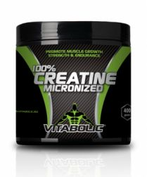 Poză 100% Creatine Micronized 400g (80 portii de 5000mg creatina)