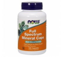 Poză NOW Full Spectrum Minerals 120 Caps