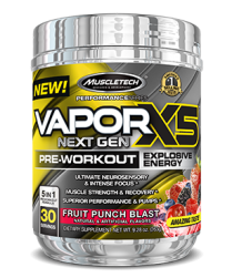 Poză Muscletech Vapor X5 Next Gen Pre Workout