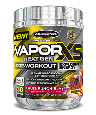 Imagine produs Muscletech Vapor X5 Next Gen Pre Workout