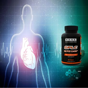 Imagine produs GPLC Q10 GlycoCarn® PLC (Cardiovascular Support and Nitric Oxide Enhancer)