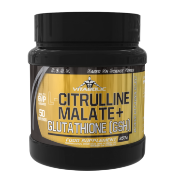Imagine produs L-Citrulline Malate + Glutathione (GSH)