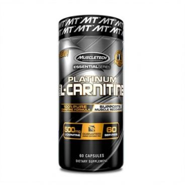 Imagine produs MT Platinum Pure L-Carnitine 60 caps
