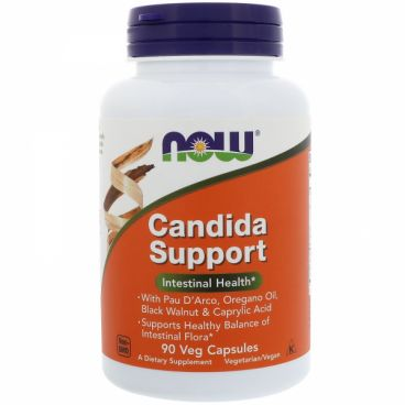 Imagine produs Now Foods Candida Support 90 Veg Capsules