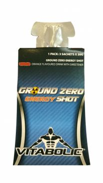 Imagine produs Ground Zero Energy Shot (3 plicuri de energizant)