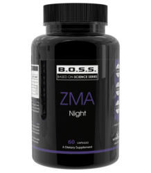 Poză ZMA Night (Melatonin, Tryptophan,Zn-Mg-B6)
